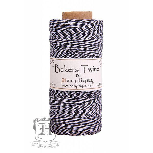 Bakers Twine - Zwart/Wit