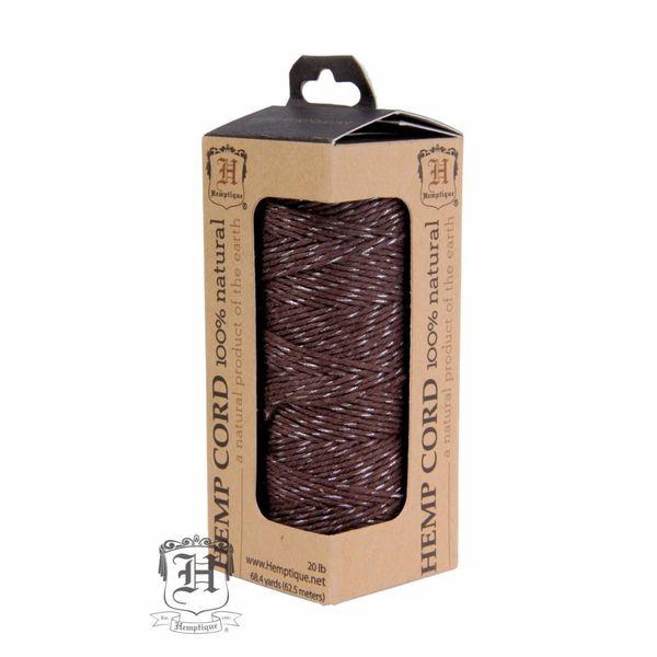 Hennep Touw - Chocolate Glow