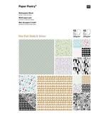 Paper Poetry - Grafisch Zilver en Goud