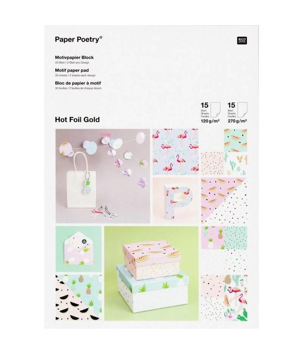 Paper Poetry - Tropical Spring
