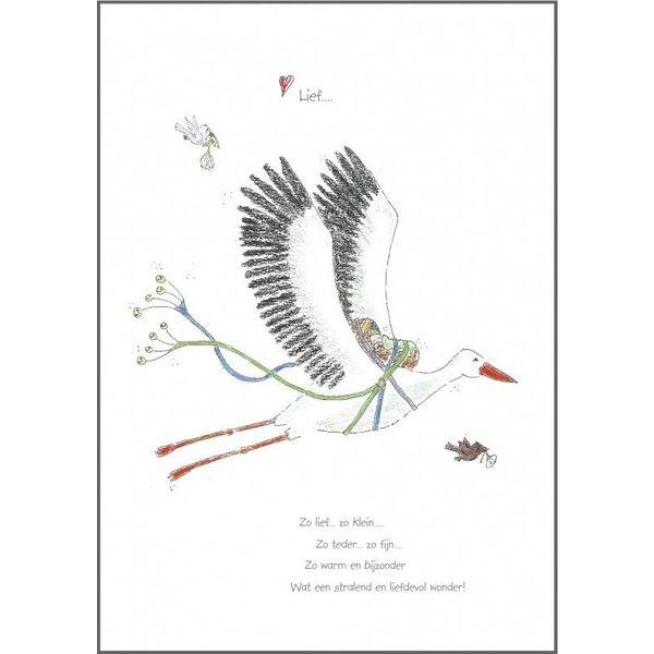 TeaTalk Wenskaart - Lief