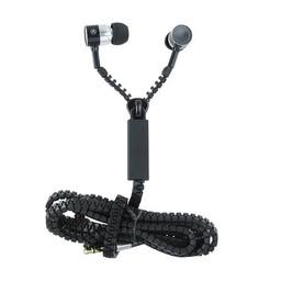 In-Ear Kopfhörer Zipper - schwarz