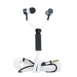 In-Ear Kopfhörer Zipper - weiß