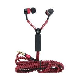 In-Ear Kopfhörer Zipper - rot