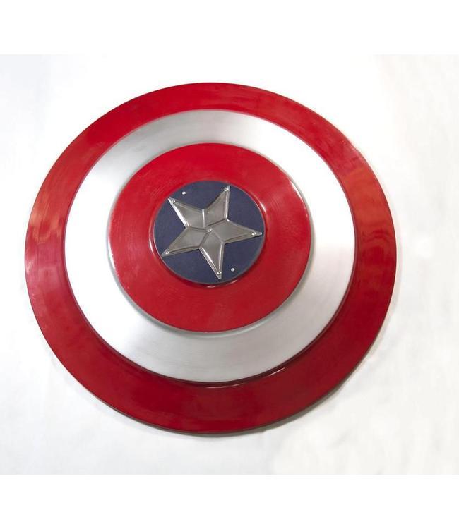 captain america metalen schild fabion. Black Bedroom Furniture Sets. Home Design Ideas
