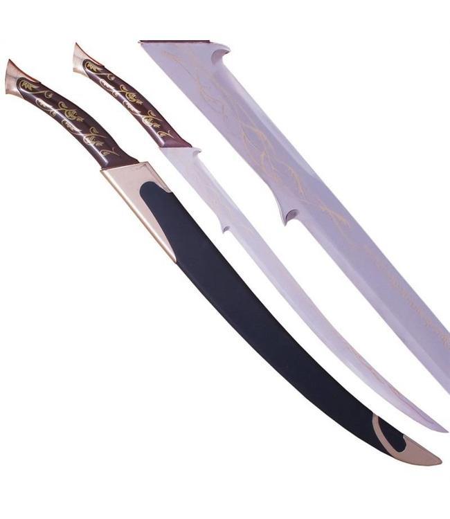 Hadhafang zwaard in schede