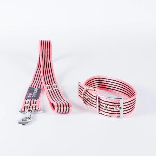 Canvasco Urban Dogs Halsband 'Frida' Roze 40mm