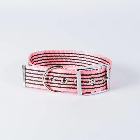 Canvasco Urban Dogs Halsband Roze 40mm