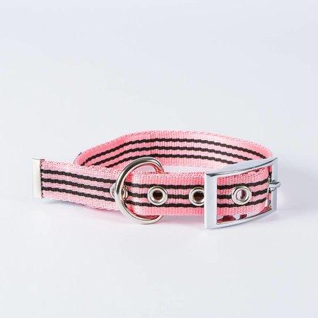 Canvasco Urban Dogs Halsband Roze 25mm