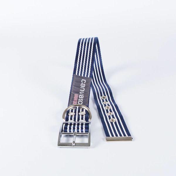 Canvasco Urban Dogs Halsband 'Frida' Donkerblauw 40mm