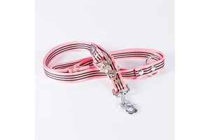 Canvasco Urban Dogs Riem Roze 25mm