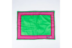 Canvasco Urban Dogs Deken Groen/Roze