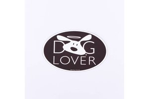 Dog is Good! Auto Magneet 'Dog Lover'