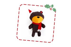 Beco Plush Toy Christmas Teddy