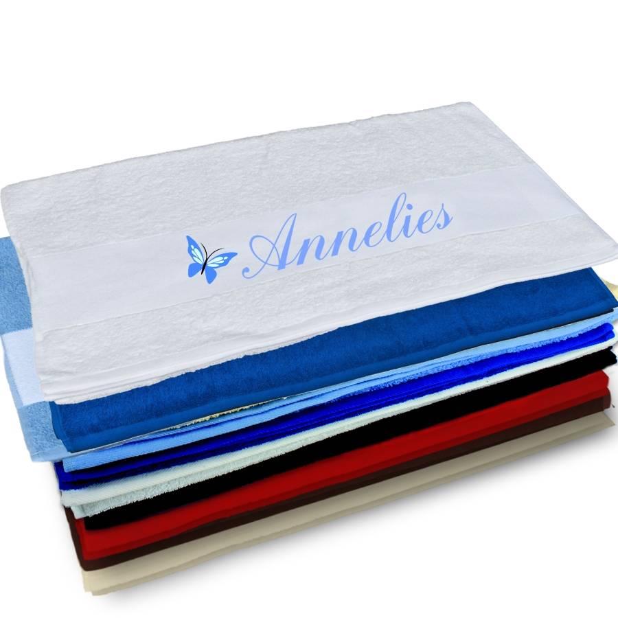Handdoek met foto   Brianto Cadeaus