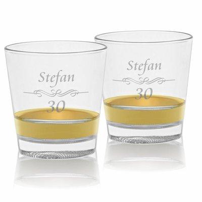 Whiskyglazen Oro met personalisatie