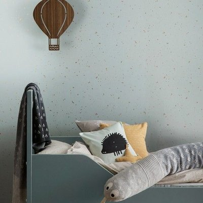 Ferm Living behang Confetti Mint