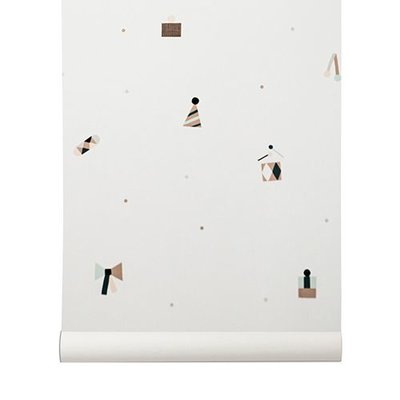 Ferm Living behang Party wallpaper 529