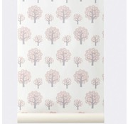 Ferm Living Wallpaper Dotty Rose