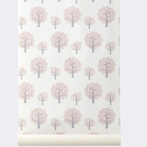 Ferm Living Tapete Dotty Rose