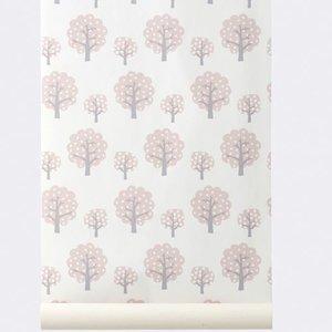 Ferm Living wallpaper Dotty Rose