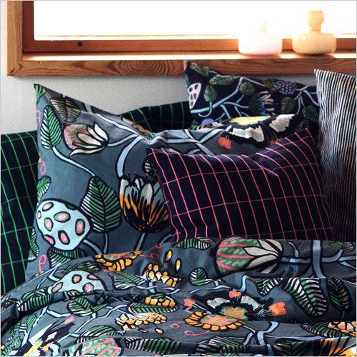 Scandinavische kussens slaapkamer