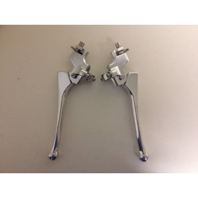 Emgo Pair of Replica Doherty type 200/Amal Competition Levers