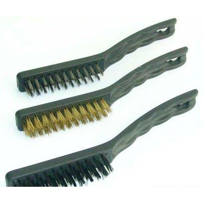 Kit de brosses métalliques (3 pièces)