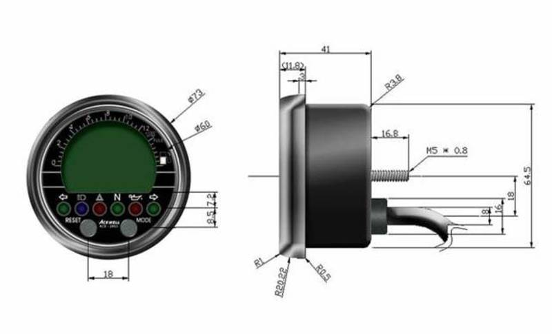 image acewell 2853 as speedo with black housing caferacerwebshop com acewell 2853 wiring diagram at aneh.co
