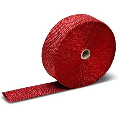 "MCU 25FT x 2"" Red Exhaust Wrap"