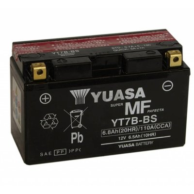 Yuasa YT7B-BS GEL Battery Maintenance-free
