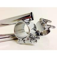 35MM Chrome Clipons (for Many Honda CB's)