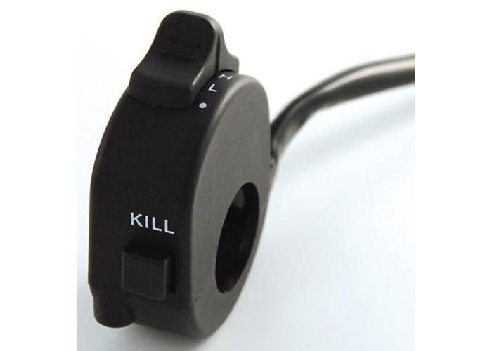 3-Stufen Licht + Kill-Schalter für Lenkeranbau
