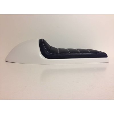 Cafe Racer Seat Tuck N' Roll Stitch Black type 35