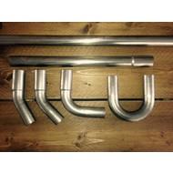 38MM DIY Exhaust Tubing Kit Steel