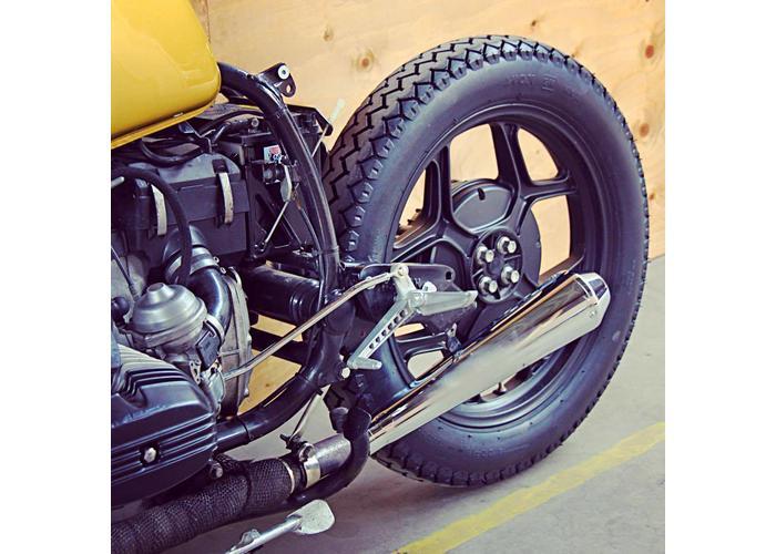 4.00 -18 TT 64 S Fat Avon Safety Mileage MK II AM7 Reife
