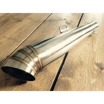 Handmade GP Cafe Racer Silencer (Universal) 50mm