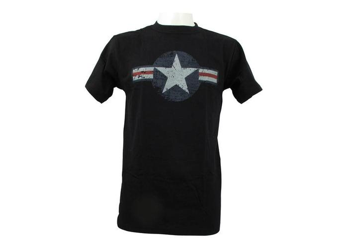 Air Force Stars & Bars Black