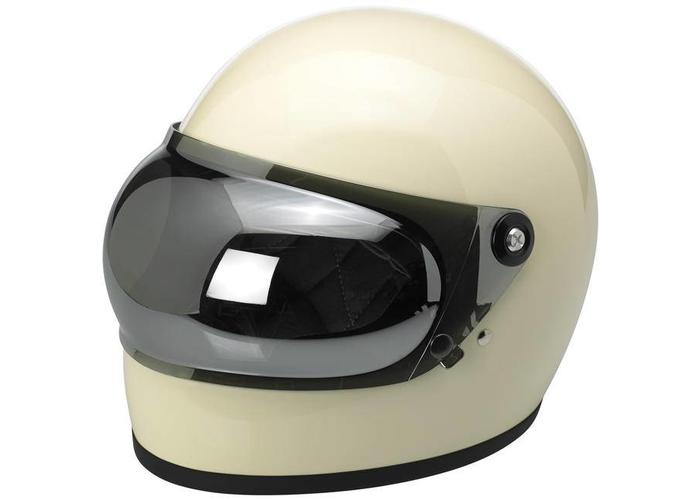 Biltwell Gringo S Anti fog Bubble Shield Chrome Mirror