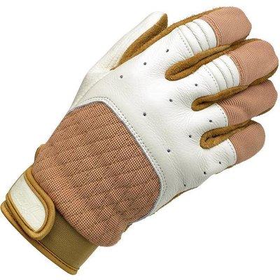 Biltwell Bantam Handschuhe Weiss / Tan
