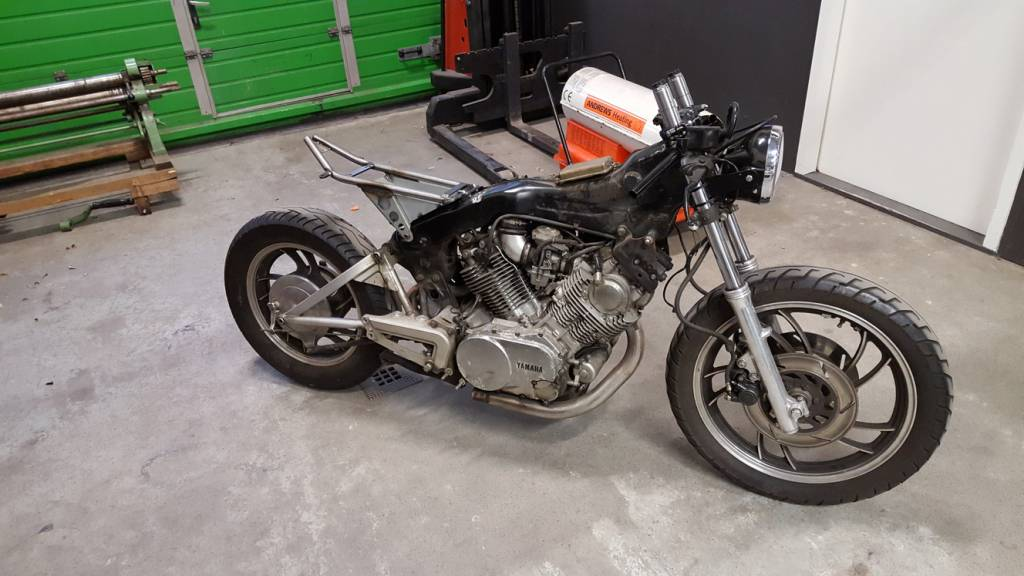 Yamaha Virago  Cafe Racer Parts