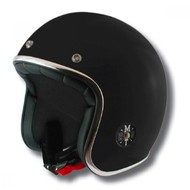 MT Helm Jet-Helm Le Mans Schwartz
