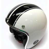 MT Helm Jet-Helm Le Mans Weiss/Schwartz