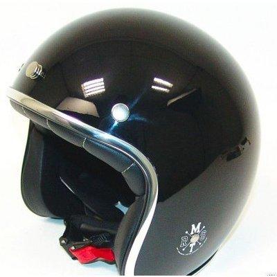 MT Helmets Le Mans Retro Jet Black