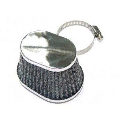 Oval Chrome Air Pod Filter
