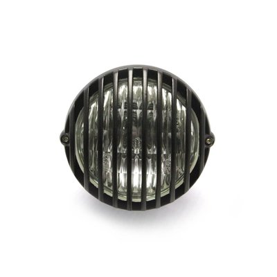 "4.5"" Prison Headlight Bottom Mount Black"