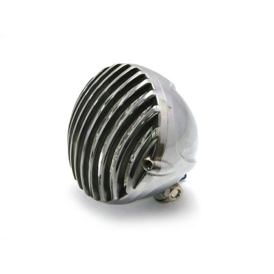 "4.5"" Prison Headlight Bottom Mount Polished"
