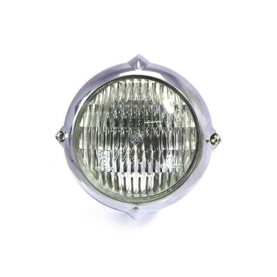"5.5"" Vintage Headlight Bottom Mount Polished"