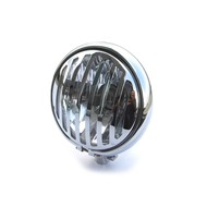 """5.75"""" Grill Chrome Headlight with Bottom Mount"""