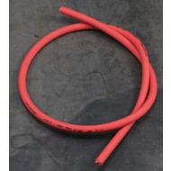 Silicone Zundkerze Kabel 7MM Rot 100CM